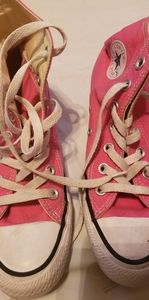 Used pink chuck taylor